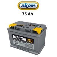 Μπαταρία Αυτοκινήτου Akom Reactor 75 Ah