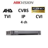 DVR Hikvision DS-7204 HQHI-K1 (B) Πεντυβριδικό
