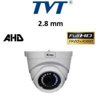 Κάμερα TVT 7524AS/W/2.8mm AHD 1080P IP66 Weatherproof Dome