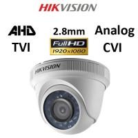 Κάμερα Hikvision DS-2CE56D0T-IRF AHD / TVI / CVI / Analog 1080P 2.8mm Λευκή Dome