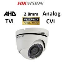 Κάμερα Hikvision DS-2CE56D0T-IRMF AHD / TVI / CVI / Analog 1080P 2.8mm Λευκή Dome