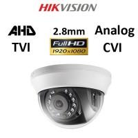 Κάμερα Hikvision DS-2CE56D0T-IRMMF AHD / TVI / CVI / Analog 1080P 2.8mm Λευκή Dome
