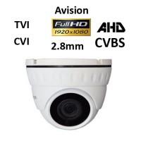 Κάμερα Avision D1080W AHD / TVI / CVI / CVBS 1080P 2.8mm Λευκή Dome