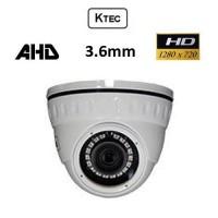 Κάμερα KTEC D720W AHD 720P 3.6mm Λευκή Dome