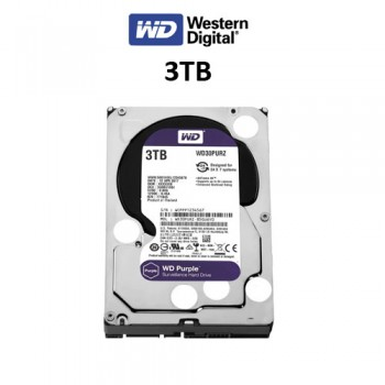 Σκληρός δίσκος Western Digital Purple 3TB 3.5'' WCC4N3VV0X6J