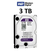 Σκληρός δίσκος Western Digital Purple 3TB WD30PURX 64MB