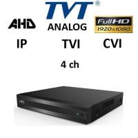 DVR TVT 2104TS-C 5-BRID TVI, AHD, CVI, Analog, IP, 4ch 1080P