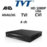 DVR TVT 2104TS-CL 4-BRID TVI, AHD, CVI, Analog, 4ch 1080P Lite 720P