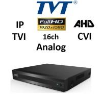 DVR TVT 2116TS-HC - TVI/AHD/CVI/ANALOG/IP, 1080P, 16CH