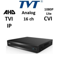 DVR TVT 2116TS-CL - TVI/AHD/CVI/ANALOG/IP, 1080P Lite 720P, 16CH