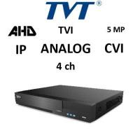 DVR TVT 2704TS-PR - AHD/TVI/CVI/ANALOG/IP, 5MP, 4CH