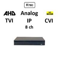 DVR KTEC KT-2008 5-BRID TVI, AHD, CVI, Analog, IP, 8ch 1080N