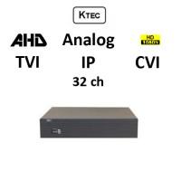 DVR KTEC KT-2032 5-BRID TVI, AHD, CVI, Analog, IP, 32ch 1080N