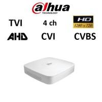 DVR Dahua XVR4104C, AHD, TVI, CVI, CVBS, 4ch 720P