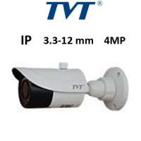 Κάμερα TVT 9442S2 4MP 3.3-12MM Λευκή Bullet