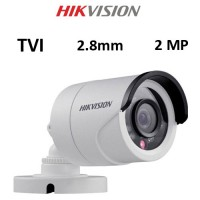 Κάμερα Hikvision DS-2CE16D0T-IRF TVI 2MP 2.8mm Λευκή Bullet