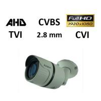Κάμερα Avision E1080W AHD / TVI / CVI / CVBS 1080P 2.8mm Λευκή Bullet