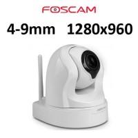 Κάμερα FOSCAM IP FI9826P ασύρματη λευκή πανοραμική Speed Dome