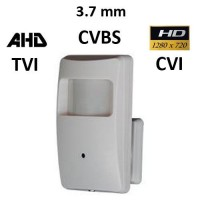 Κάμερα Ραντάρ HD100 + EYE PRO-1A AHD / TVI / CVI / CVBS 720P 3.7MM
