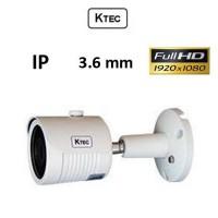 Κάμερα KTEC IP-E200 1080P 3.6mm Λευκή Bullet