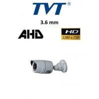 Κάμερα TVT 74114AS AHD 720P 3.6mm εξωτερική Bullet