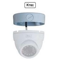 Βάση κάμερας KTEC B220W DOME 3.5'' λευκή σταθερό φακό