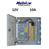 Τροφοδοτικό Mulview με κουτί 12V 10A 120-9CH