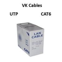 Καλώδιο VK Cables UTP Cat 6, 100 μέτρα