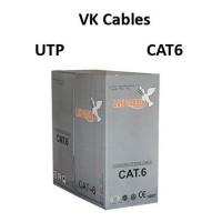 Καλώδιο VK Cables UTP Cat 6, 305 μέτρα