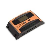 Ρυθμιστής φόρτισης PWM LCD SMK 10AH 12/24V