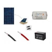 Ολοκληρωμένο σύστημα φωτοβολταϊκών 100 W