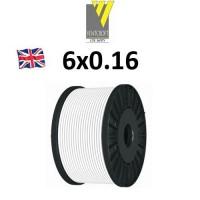 Καλώδιο συναγερμού 6X0.16 Ventcroft Union λευκό