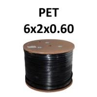 Καλώδιο Συναγερμού Pet 6X2X0.60