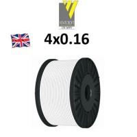 Καλώδιο συναγερμού 4X0.16 Ventcroft Union λευκό