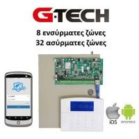 Κιτ GS-7540 ασύρματος δικτυακός Πίνακας & Πληκτρολόγιο