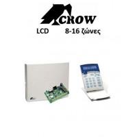 Κέντρο Crow Runner Κιτ & Πληκτρολόγιο Lcd 8-16 ζωνών
