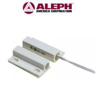 Μαγνητική επαφή ALEPH DC-1561 για σύστημα συναγερμού λευκή