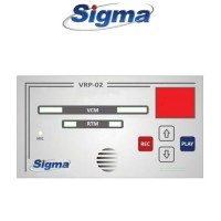 Εγγραφέας φωνής Sigma VRP-02 για VSM-01, VSM-02, RTM-01