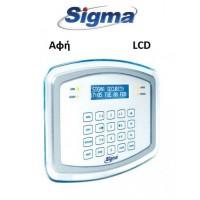 Πληκτρολόγιο Sigma Proteus KP/W λευκό