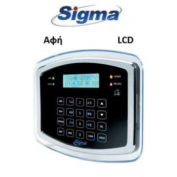 Πληκτρολόγιο Sigma Proteus KP/B μαύρο