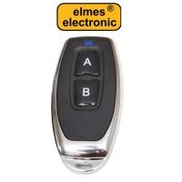 Πομπός (Τηλεχειρισμός) Elmes U2T με 2 κουμπιά μεταλλικό